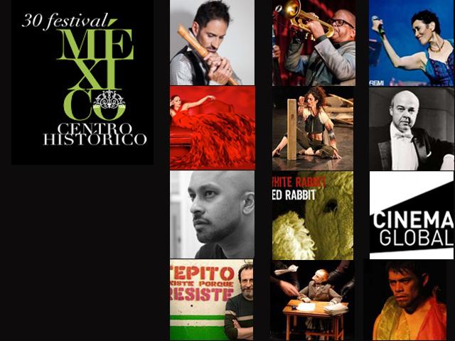 Festival Centro Histórico México, del 12 al 23 de marzo 2014 en el D.F.