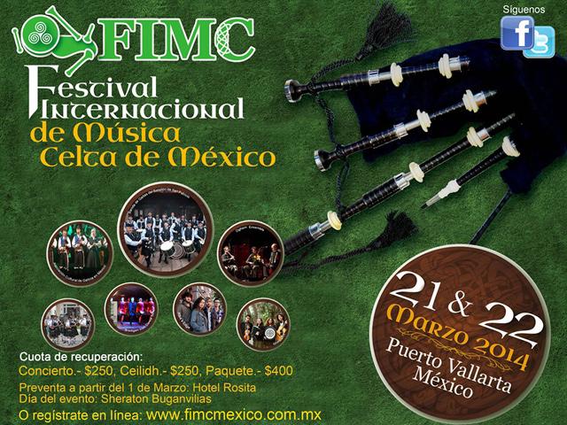 Puerto Vallarta sede del 1º Festival Internacional de Música Celta en México