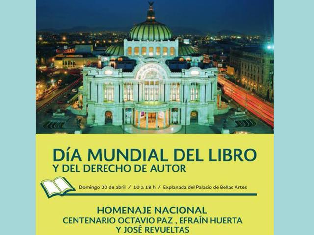 Bellas Artes celebra Día Mundial del Libro y del derecho de Autor