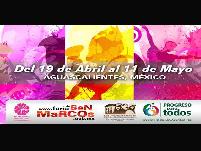 Conciertos y Eventos Feria de San Marcos 2014 en Aguascalientes