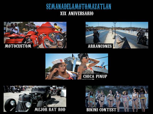 Semana Internacional de la Moto Mazatlán, 23-27 abril 2014