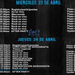 Programa eventos Semana Internacional de la Moto Mazatlán 2014