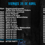 Programa 25 abril 2014 Semana Moto Mazatlán