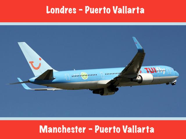 Puerto Vallarta recibe nuevos vuelos desde Londres y Manchester