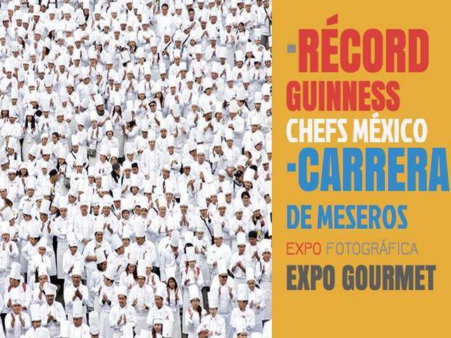 5 mil chefs buscarán romper Récord Guinness en el Ángel