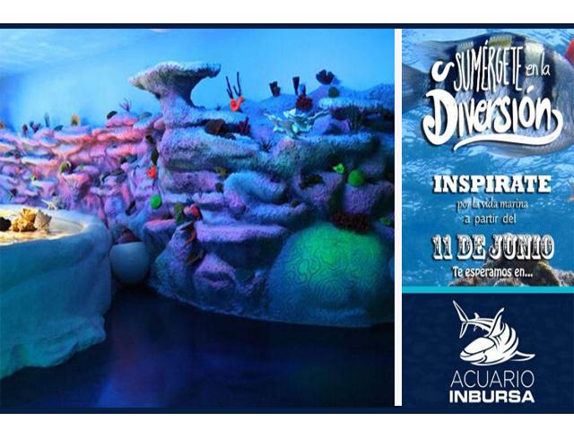 Slim y Mancera inauguran en el D.F. el acuario más grande de México