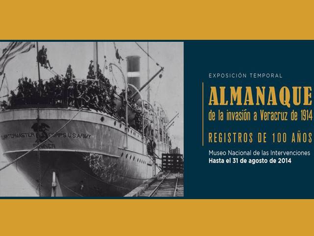 Museo de las Intervenciones conmemora 100 años de la intervención de EU a Veracruz