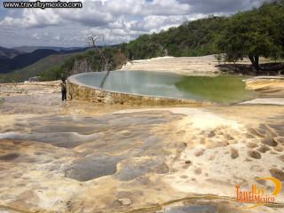 Balneario natural de las Cascadas Hierve el Agua