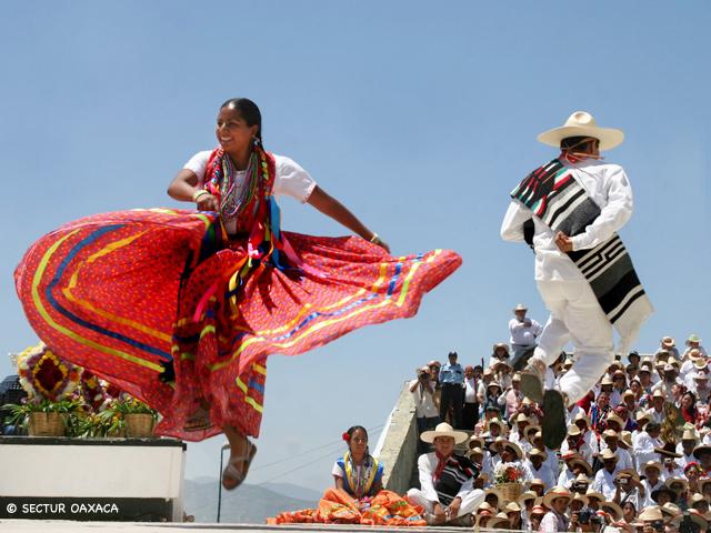 Programa de eventos Guelaguetza 2014 en Oaxaca