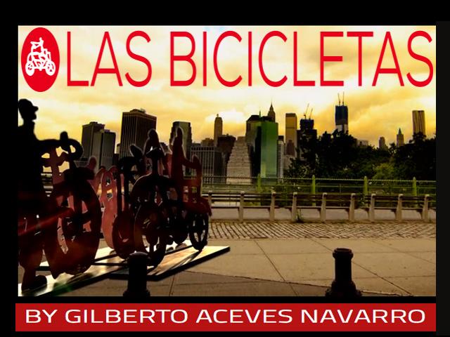 Calles de Nueva York lucirán Las Bicicletas del artista mexicano Gilberto Aceves