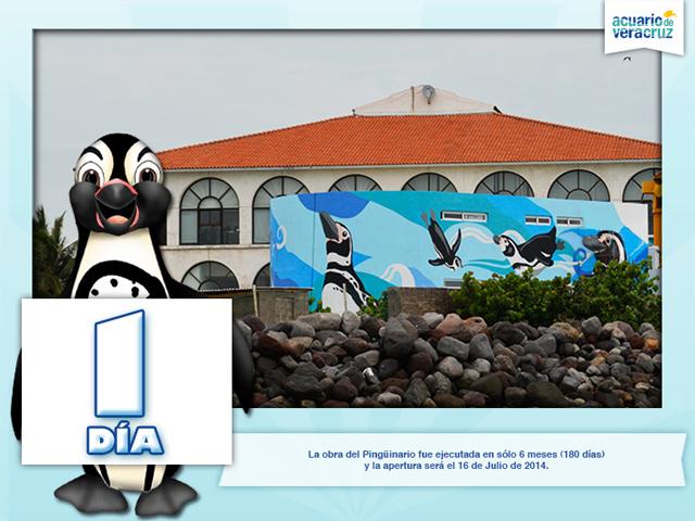 El primer pingüinario de México abrió sus puertas al público