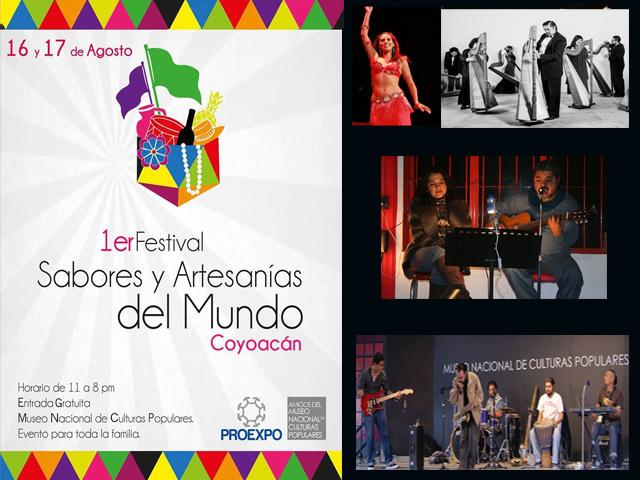 1er Festival de Sabores y Artesanías del Mundo 2014 en Coyoacán