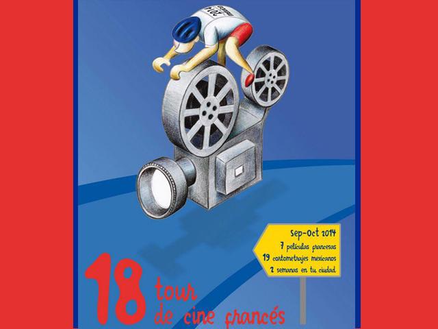 18º Tour de Cine Francés en México: durante dos semanas en tu ciudad