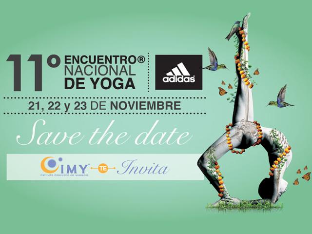 11º Encuentro Nacional de Yoga 2014 en la ciudad de México