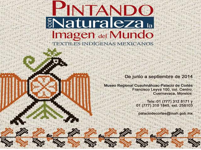 Palacio de Cortés exhibe la riqueza textil de pueblos indígenas mexicanos