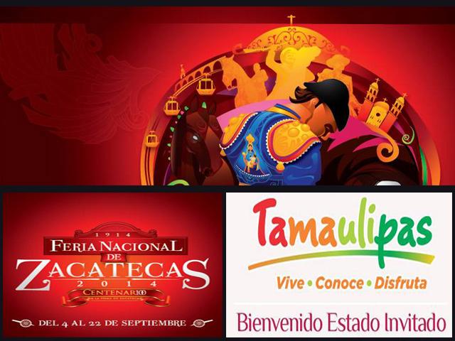 45 Feria Nacional de Zacatecas, del 4 al 22 de Septiembre 2014