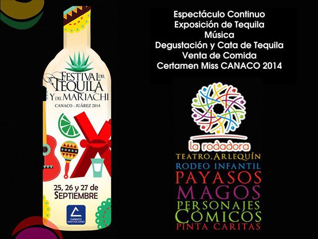 Festival del Tequila y del Mariachi 2014 en Cd. Juárez
