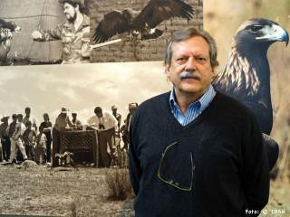 Fulvio Eccardi, fotógrafo autor de la expo Águila real, símbolo vivo de México