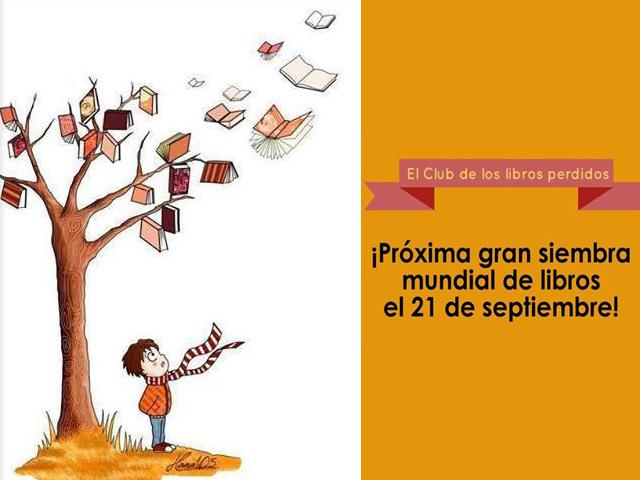 Octava gran siembra mundial de libros: 21 de septiembre de 2014