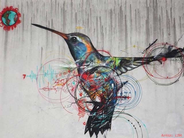 El colibrí: ave endémica de América