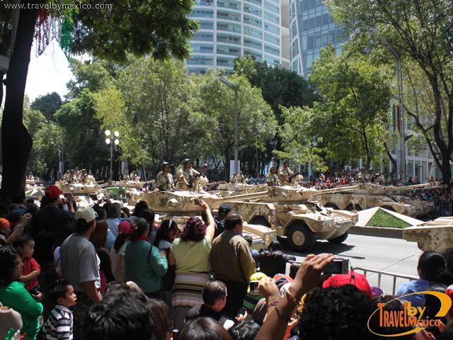 Alternativas viales durante el Grito y el Desfile Militar Conmemorativo de la Independencia de México