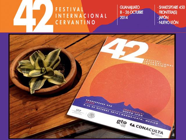 Programa del 42 Festival Internacional Cervantino 2014