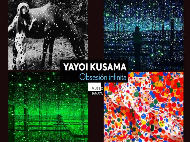 La 'Obsesión infinita' de Yayoi Kusama se exhibe en el Museo Tamayo