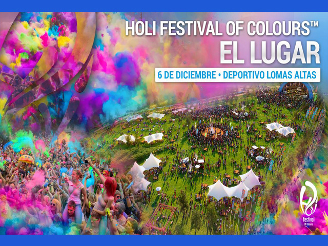Ven a llenarte de color y música en el Holi Festival Of Colours 2014