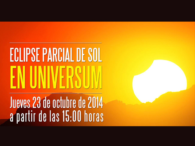 Observa el eclipse parcial de sol este 23 de octubre desde el Universum