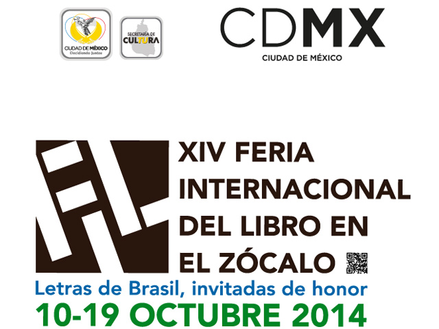 Brasil: invitado de honor de la Feria Internacional del Libro en el Zócalo 2014