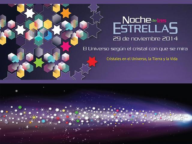 El Universo según el cristal que se mira: Noche de las estrellas 2014 en México