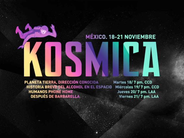 Arte y cultura en el espacio: KOSMICA regresa a México