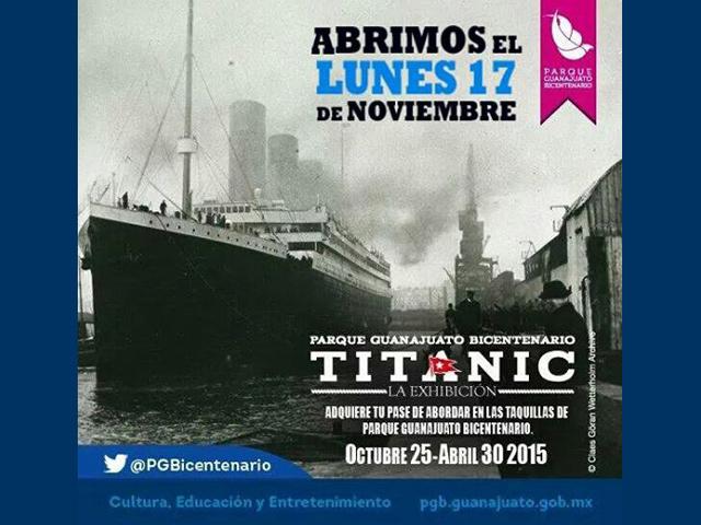 Piezas originales del Titanic se exhiben por vez primera en México