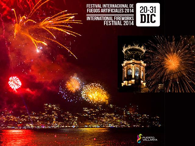 Puerto Vallarta: sede del 1º Festival Internacional de Fuegos Artificiales 2014