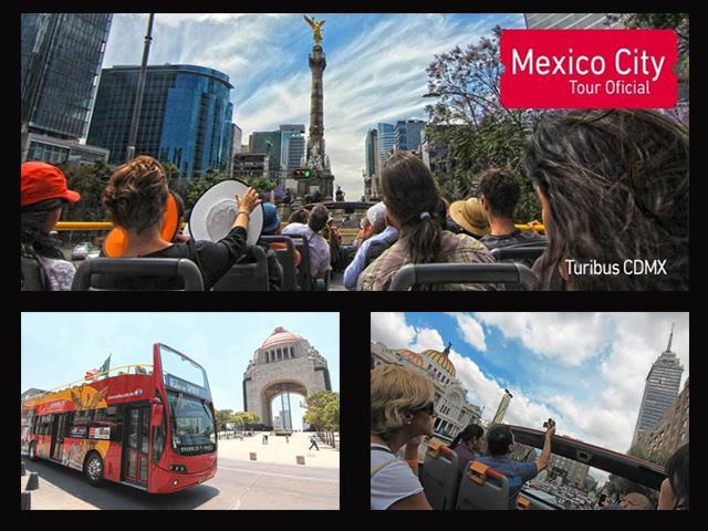 Panorámica en el Turibus por el Distrito Federal