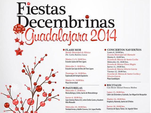Llegó el espíritu de la Navidad 2014 a Guadalajara y Zapopan