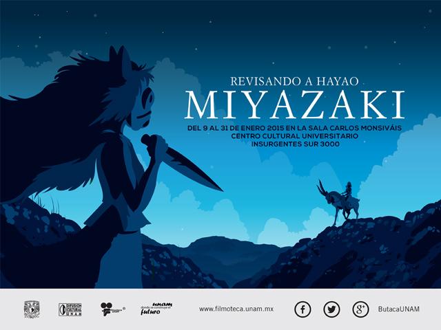 Hoy inicia un ciclo dedicado a Hayao Miyazaki en la Filmoteca de la UNAM