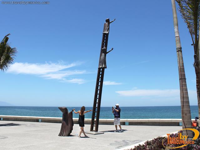 Las esculturas del Malecón de Puerto Vallarta