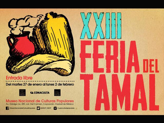 XXIII Expo Venta Feria del Tamal 2015 en el Museo Nacional de Culturas Populares de Coyoacán