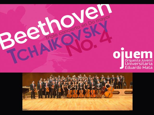 La OJUEM interpretará a Beethoven y Tchaikovski en el Teatro del Bicentenario