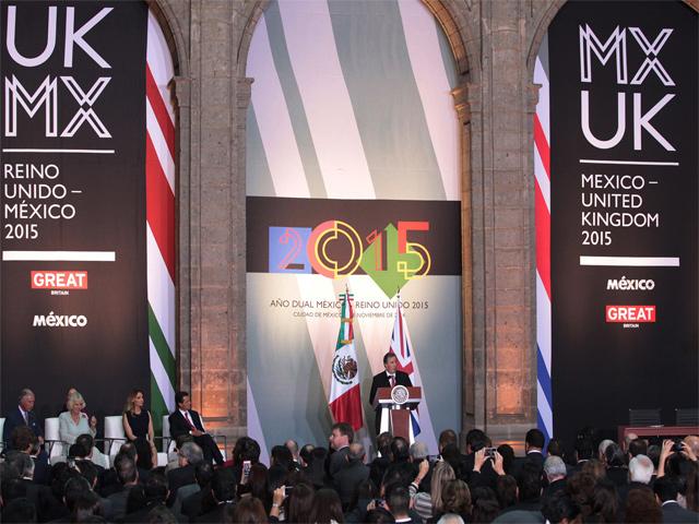 Todo este 2015 se celebra el 'Año Dual México Reino Unido'