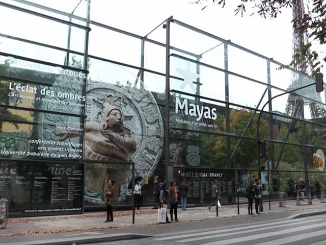 Exposición del INAH sobre los Mayas rompe récord de visitas en museo francés