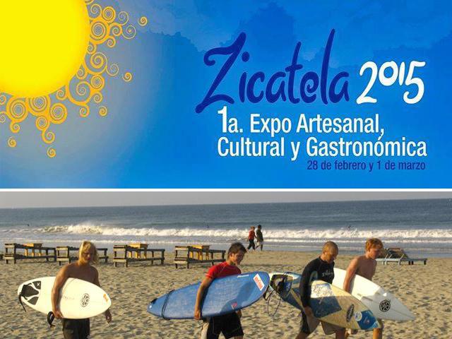 1a. Expo artesanal, cultural y gastronómica en Playa Zicatela, Oaxaca