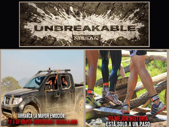 Inscríbete a Unbreakable Guadalajara y D.F., el reto de Nissan Sports Adventure