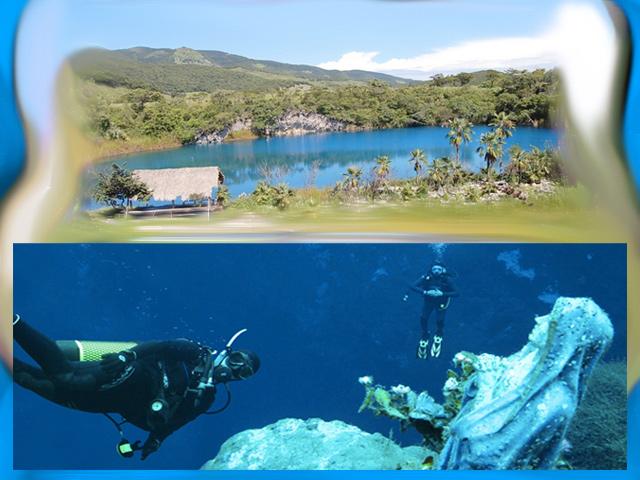 El cenote Chuculmaltik: maravilloso escenario natural para el buceo de altura