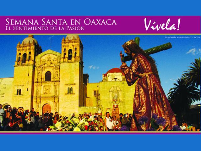Recorrido de las Siete Casas, o templos, en Oaxaca durante la Semana Santa