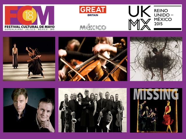 El Festival Cultural de Mayo 2015 contará con renombrados artistas ingleses