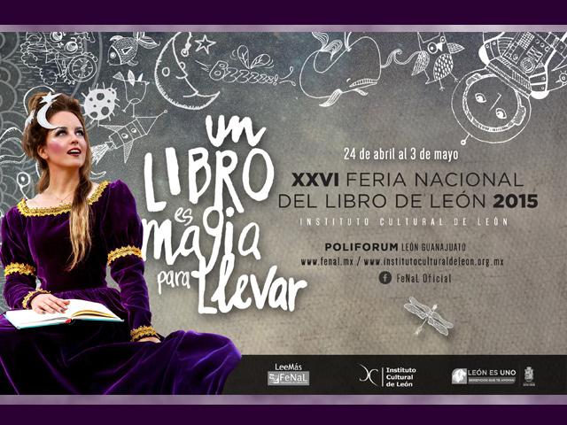 Autores, eventos y actividades de la Feria Nacional del Libro de León 2015