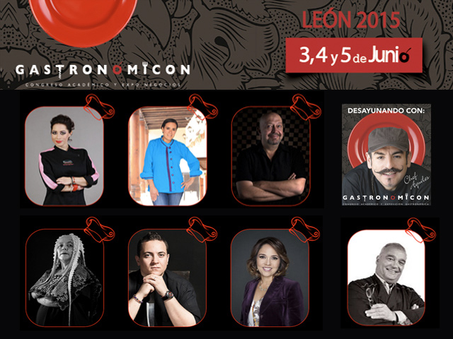 Gastronomicon León 2015, Congreso académico y Expo de negocios