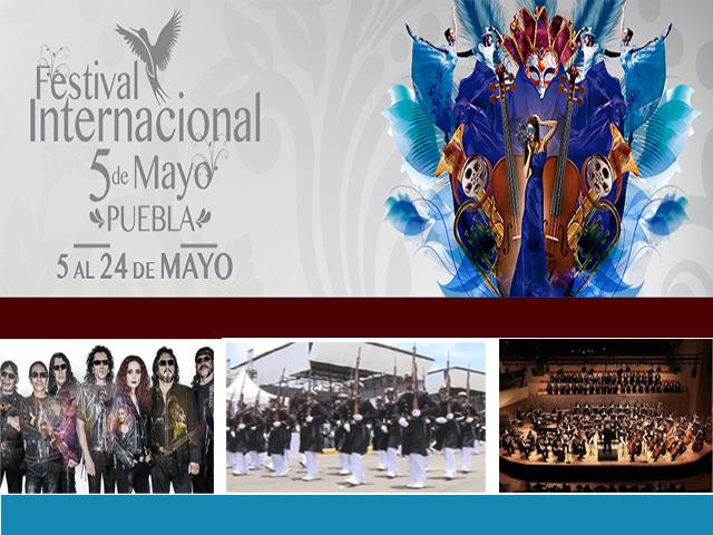 Festival Internacional 5 de Mayo 2015 en Puebla